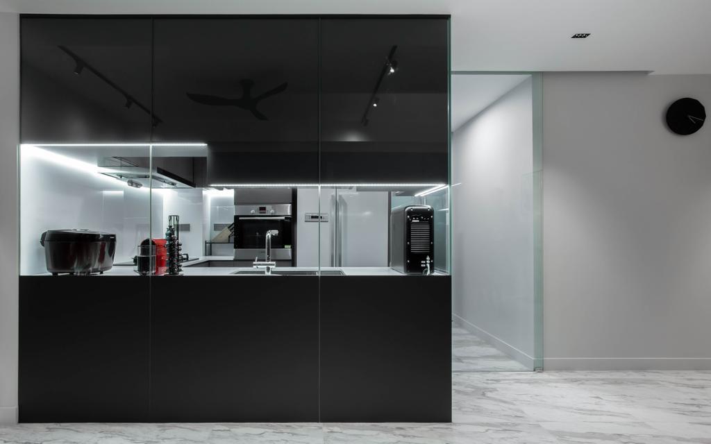 Modern, Condo, Kitchen, The Arte, Interior Designer, The Design Practice, Contemporary