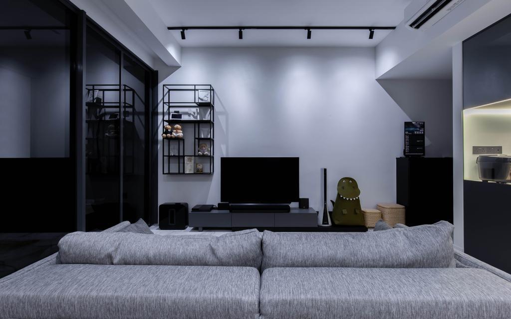 Modern, Condo, Living Room, The Arte, Interior Designer, The Design Practice, Contemporary