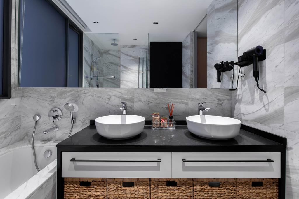 Modern, Condo, Bathroom, The Arte, Interior Designer, The Design Practice, Contemporary