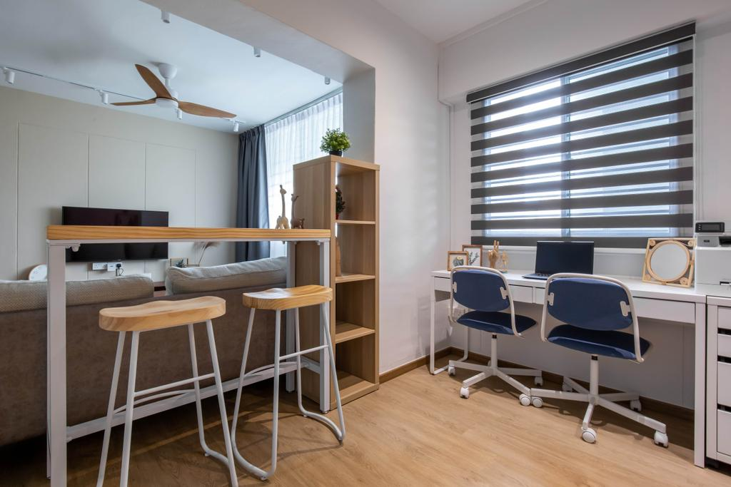 Modern, HDB, Living Room, Serangoon North Avenue 2, Interior Designer, Sense & Semblance, Scandinavian