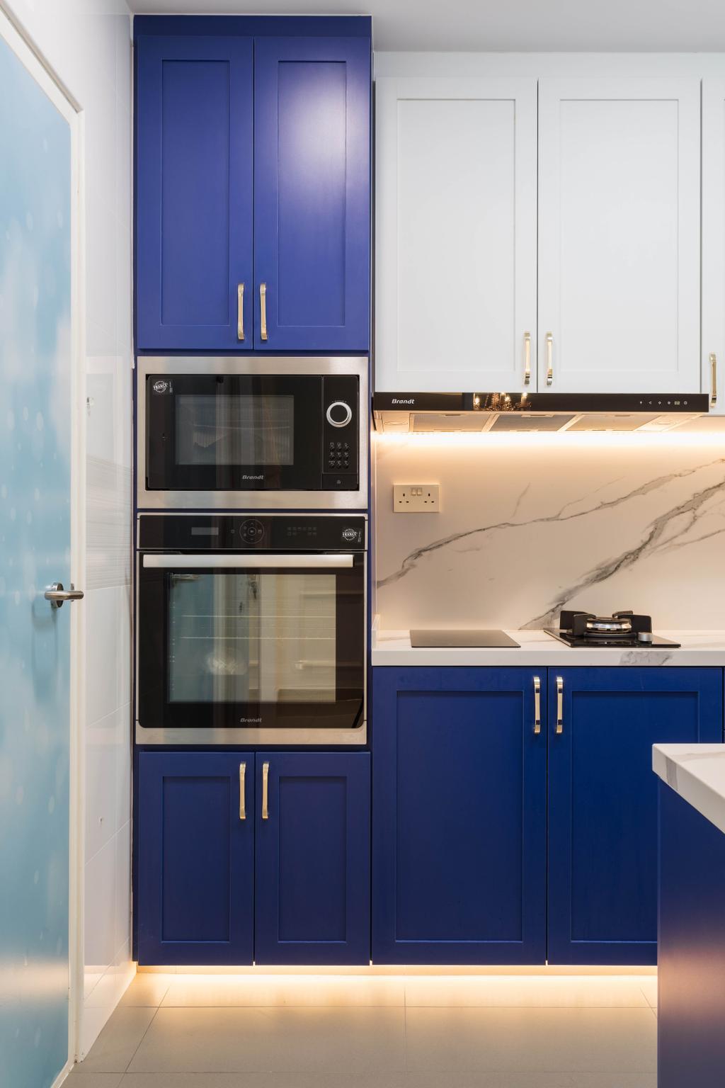 Modern, HDB, Kitchen, Canberra Street, Interior Designer, ChengYi Interior Design