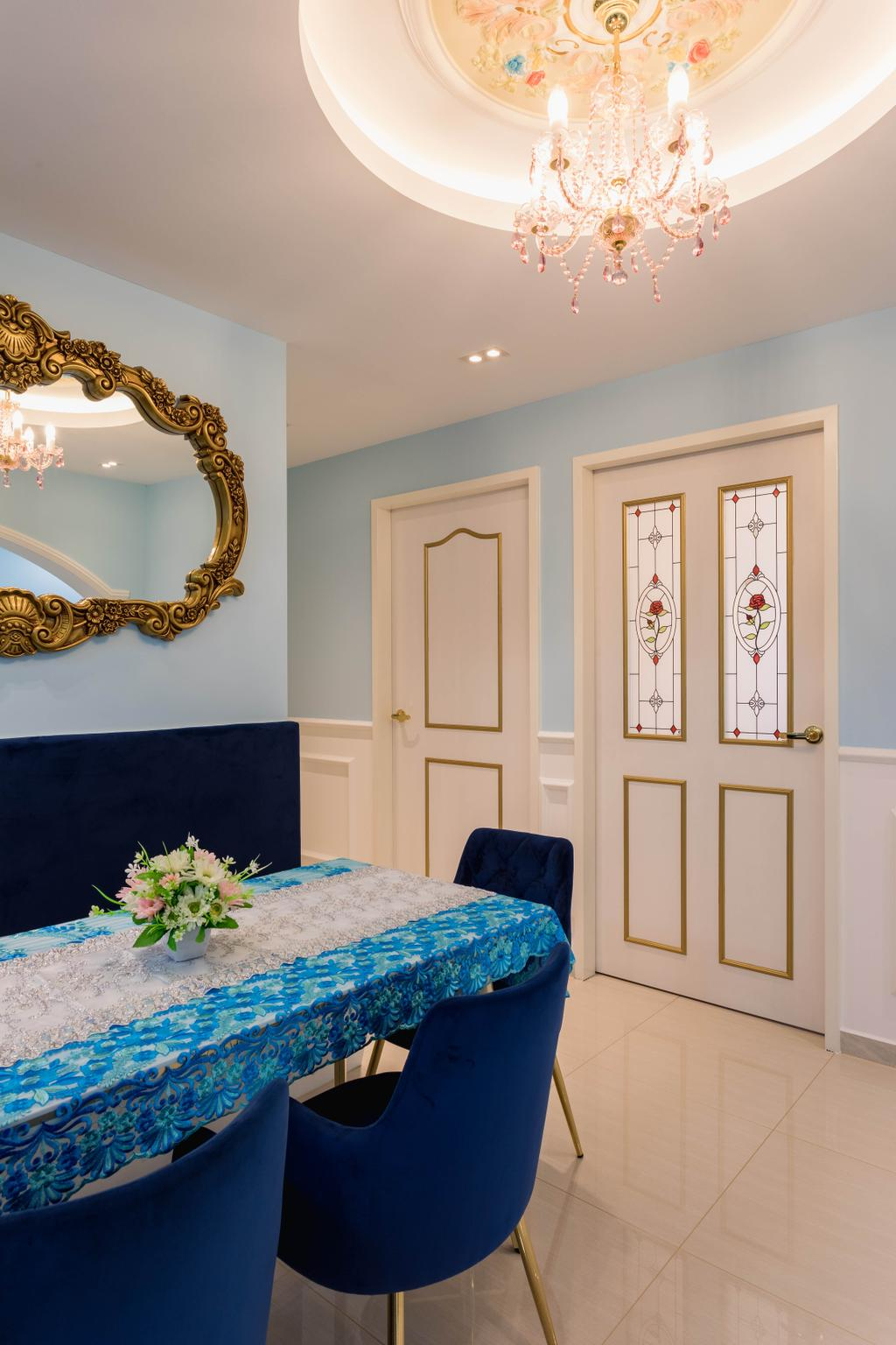 Modern, HDB, Dining Room, Canberra Street, Interior Designer, ChengYi Interior Design