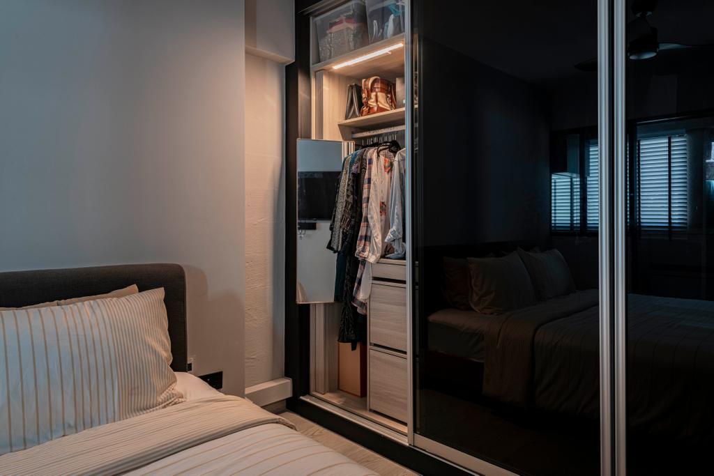 Contemporary, HDB, Bedroom, Ang Mo Kio Avenue 6, Interior Designer, Butler Interior