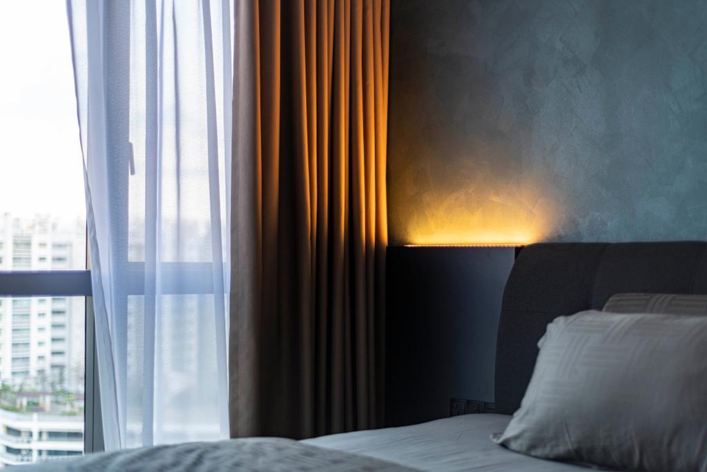 Modern, Condo, Bedroom, The Alps Residences, Interior Designer, Butler Interior