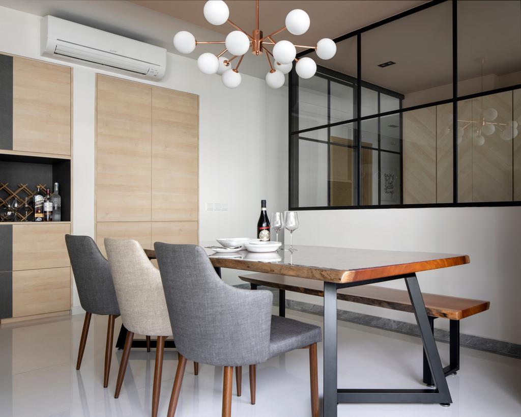 Modern, Condo, Dining Room, The Gale, Interior Designer, Salt Studio, Contemporary