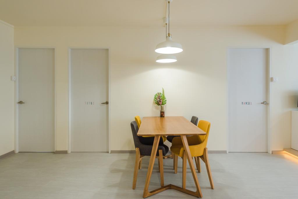 Minimalistic, HDB, Dining Room, Bishan, Interior Designer, Dap Atelier