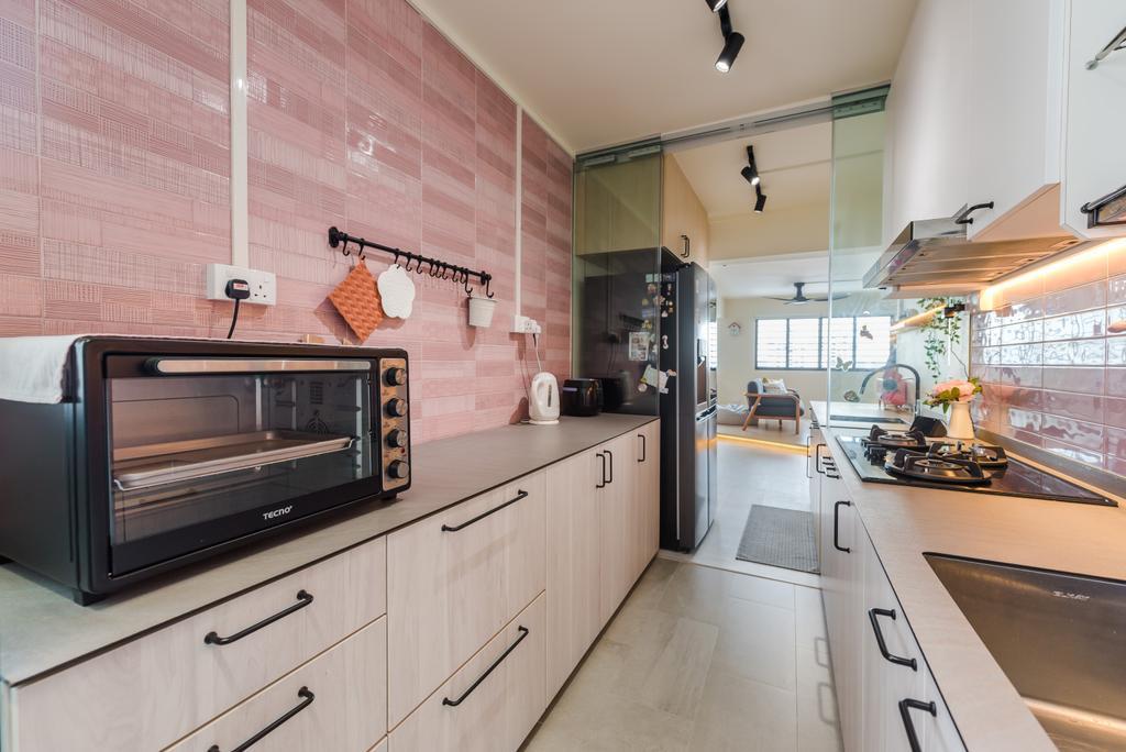 Minimalistic, HDB, Kitchen, Bishan, Interior Designer, Dap Atelier