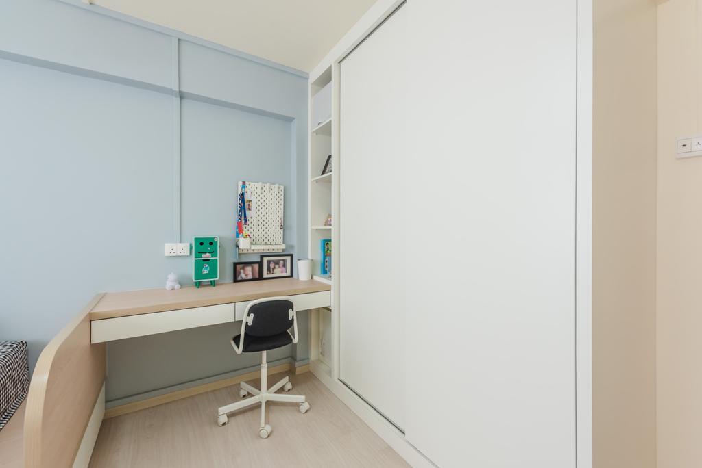 Minimalistic, HDB, Study, Bishan, Interior Designer, Dap Atelier