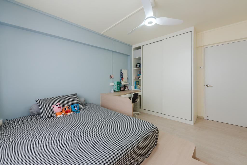 Minimalistic, HDB, Bedroom, Bishan, Interior Designer, Dap Atelier