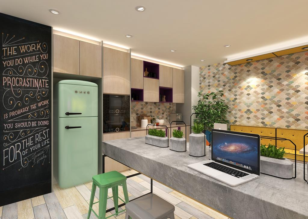 Uno 26, Commercial, Interior Designer, Salt Studio, Contemporary