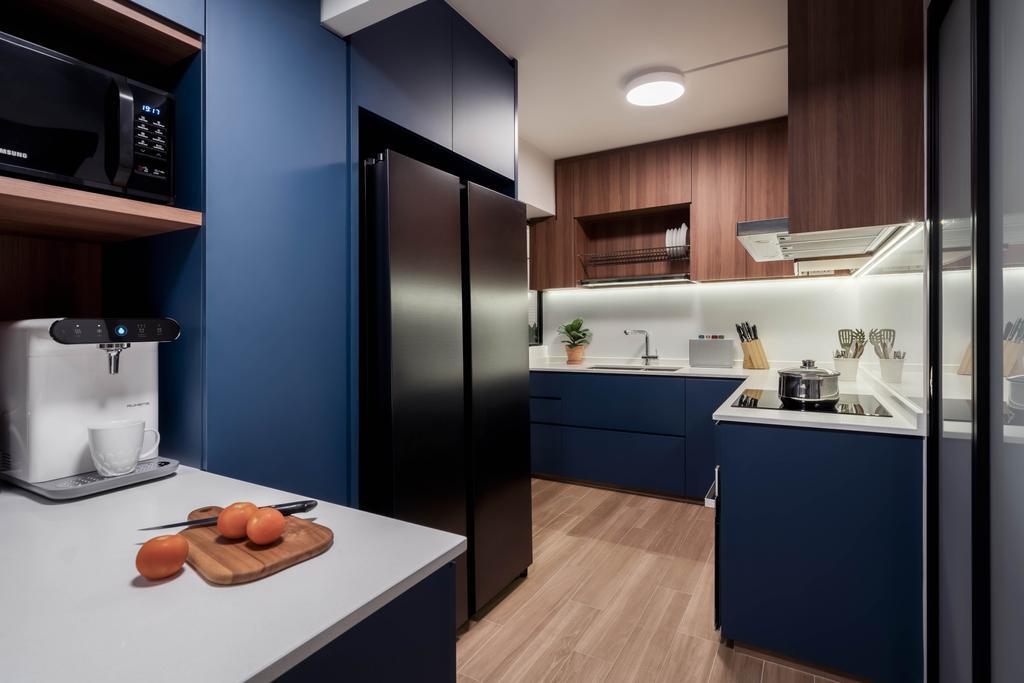 Contemporary, HDB, Kitchen, Toh Yi Drive, Interior Designer, Zenith Arc