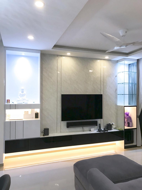 Modern, Condo, Living Room, Parc Life, Interior Designer, Sky Creation Asia