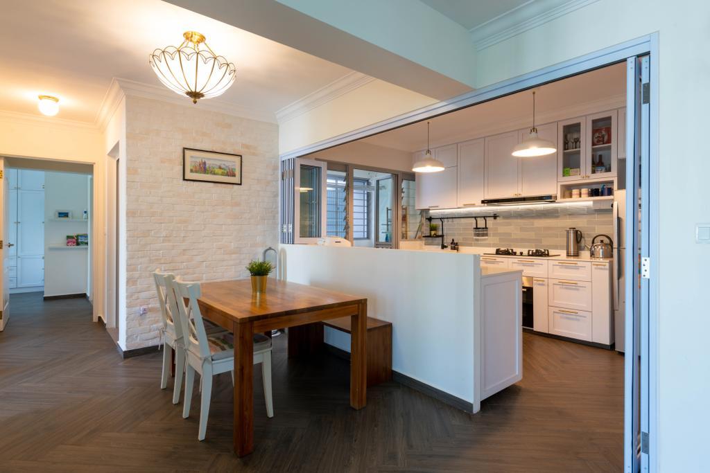 Modern, HDB, Dining Room, Bidadari Park Drive, Interior Designer, Project Guru