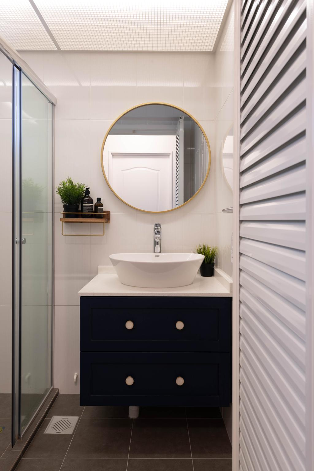 Modern, HDB, Bathroom, Bidadari Park Drive, Interior Designer, Project Guru