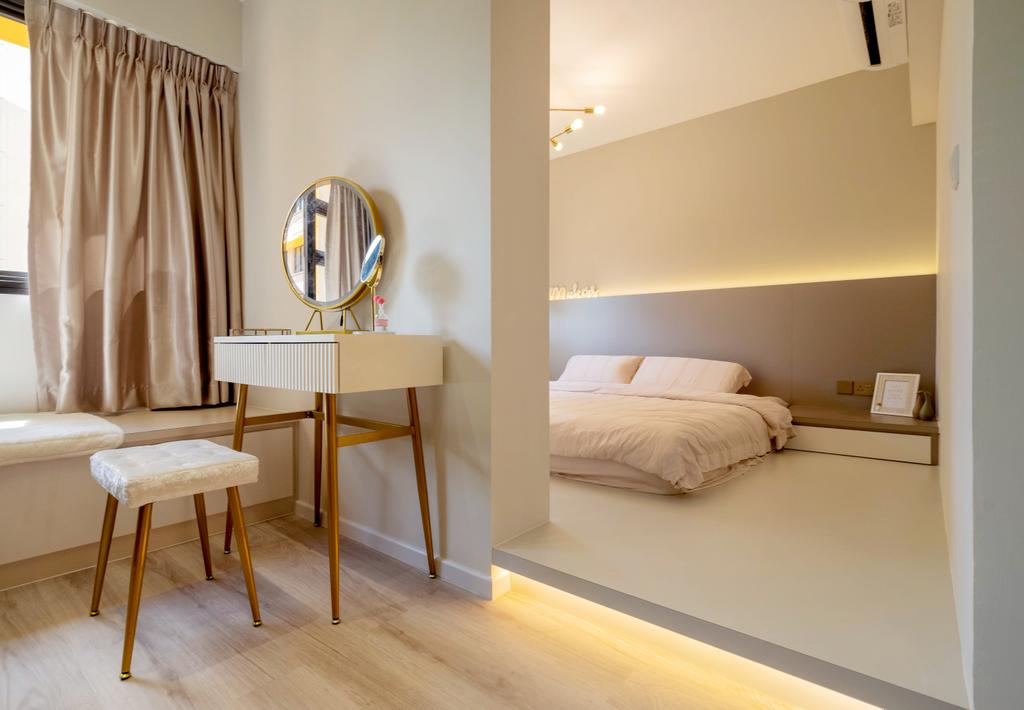 Modern, HDB, Bedroom, Bukit Batok West Avenue 8, Interior Designer, The Makers Design Studio, Scandinavian