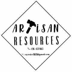 Artisan Resources