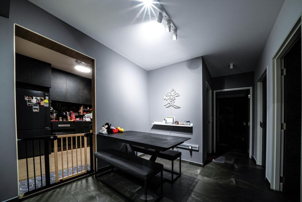 Contemporary, HDB, Dining Room, Clementi Avenue 3, Interior Designer, Truehope Interior Design