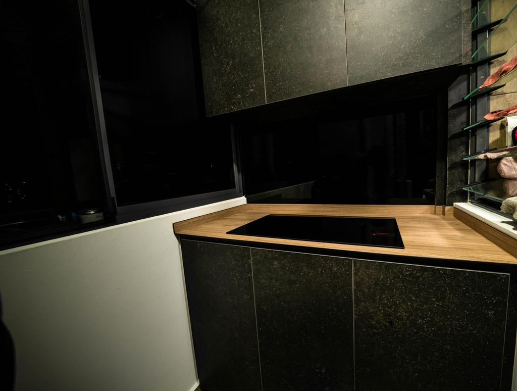 Contemporary, HDB, Kitchen, Clementi Avenue 3, Interior Designer, Truehope Interior Design