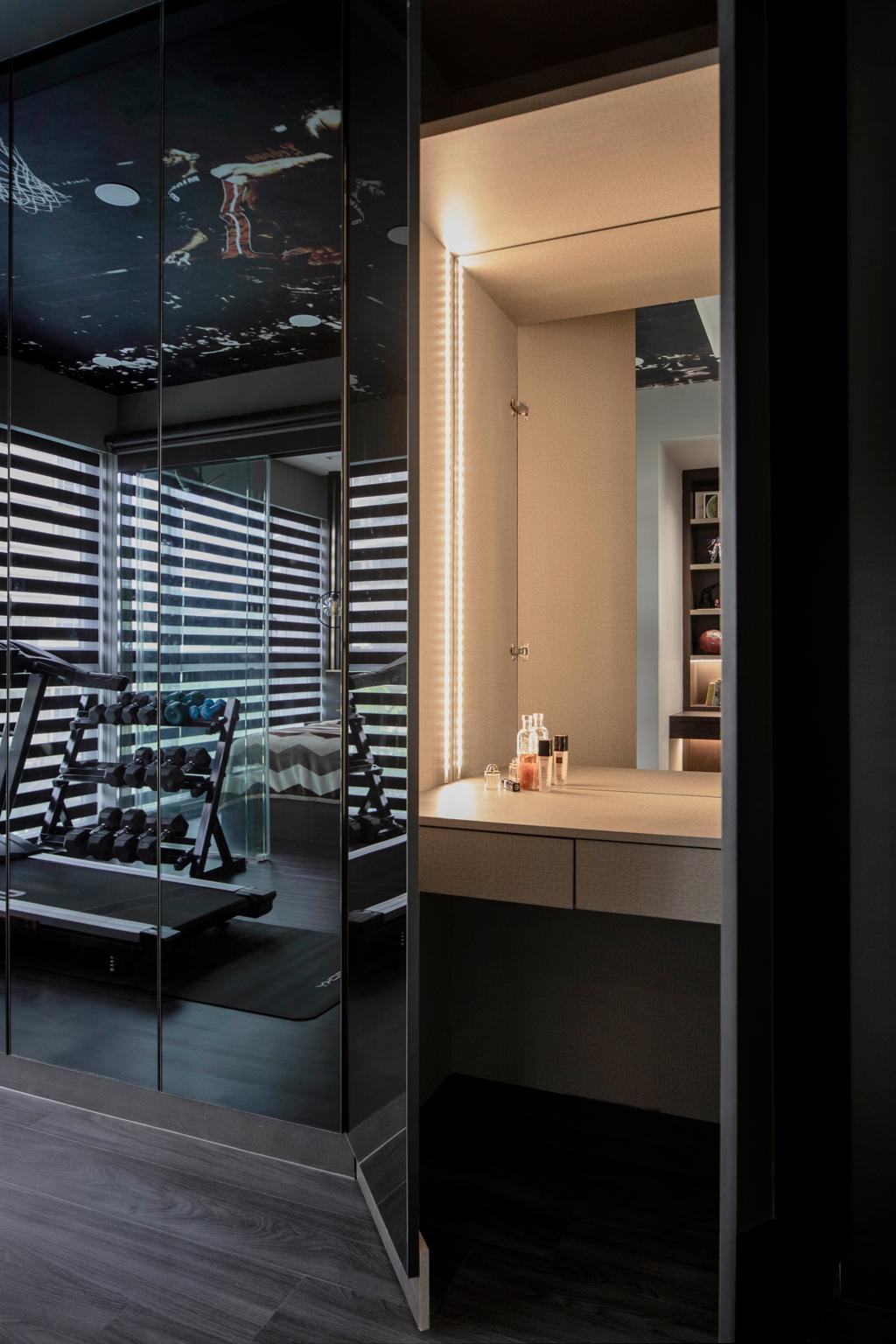 Scandinavian, Condo, Bedroom, Northwave, Interior Designer, Fifth Avenue Interior, Contemporary, Vanity