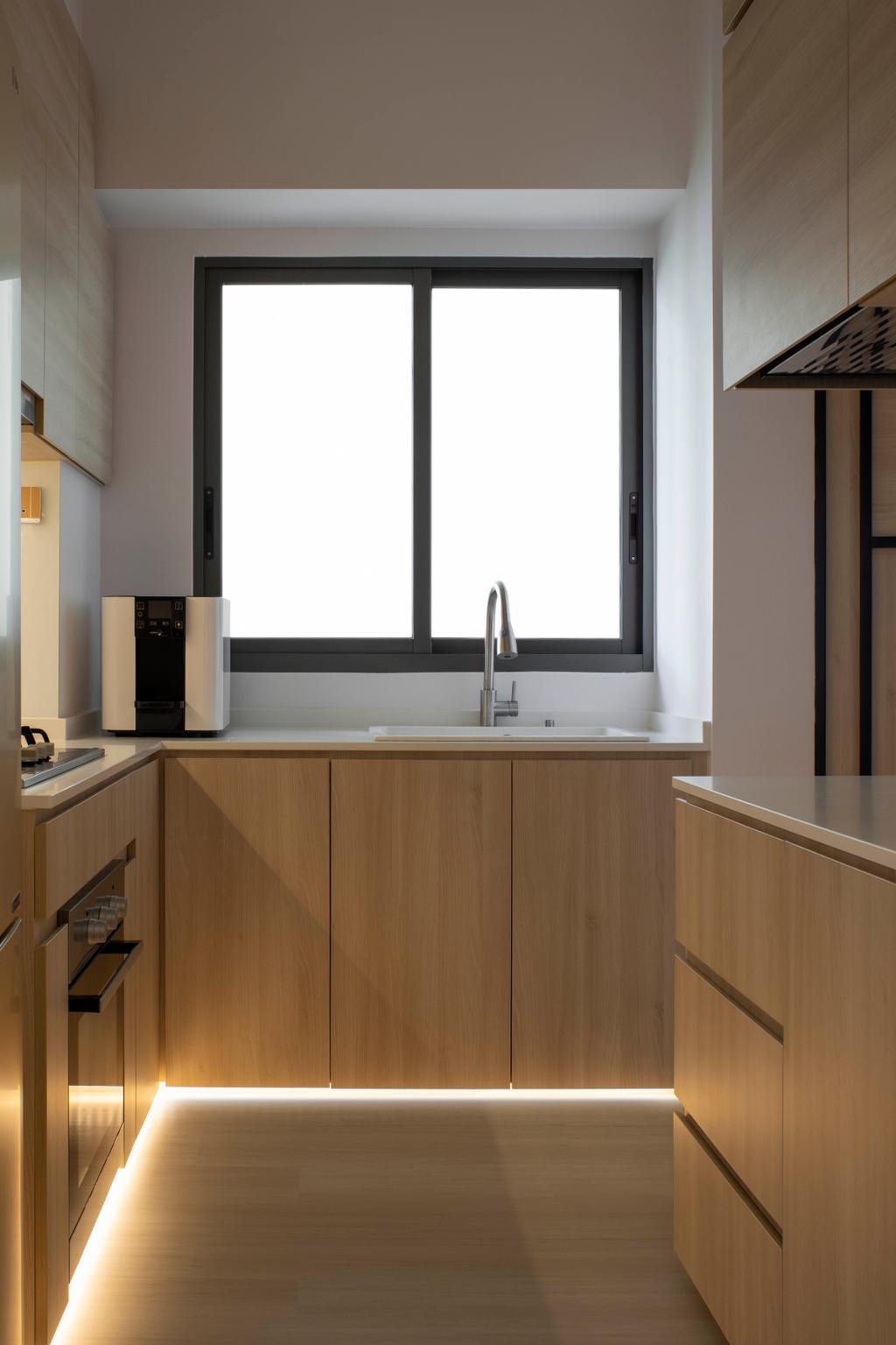 Scandinavian, Condo, Kitchen, Northwave, Interior Designer, Fifth Avenue Interior, Contemporary