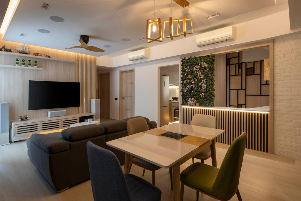 Scandinavian, Condo, Dining Room, Northwave, Interior Designer, Fifth Avenue Interior, Contemporary