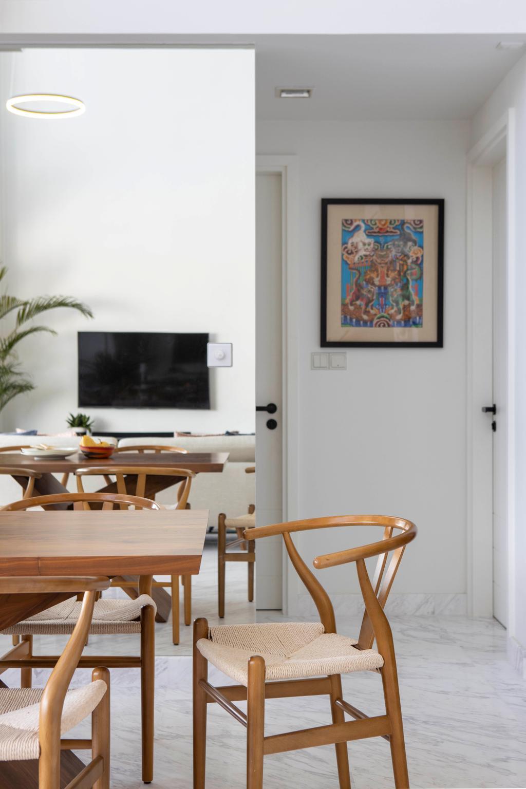 Eclectic, Condo, Dining Room, Versilia on Haig, Interior Designer, Home Philosophy