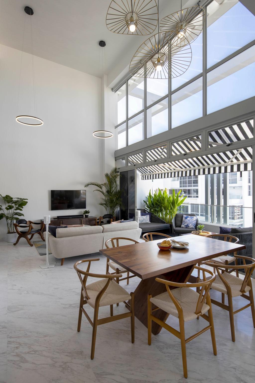 Eclectic, Condo, Living Room, Versilia on Haig, Interior Designer, Home Philosophy