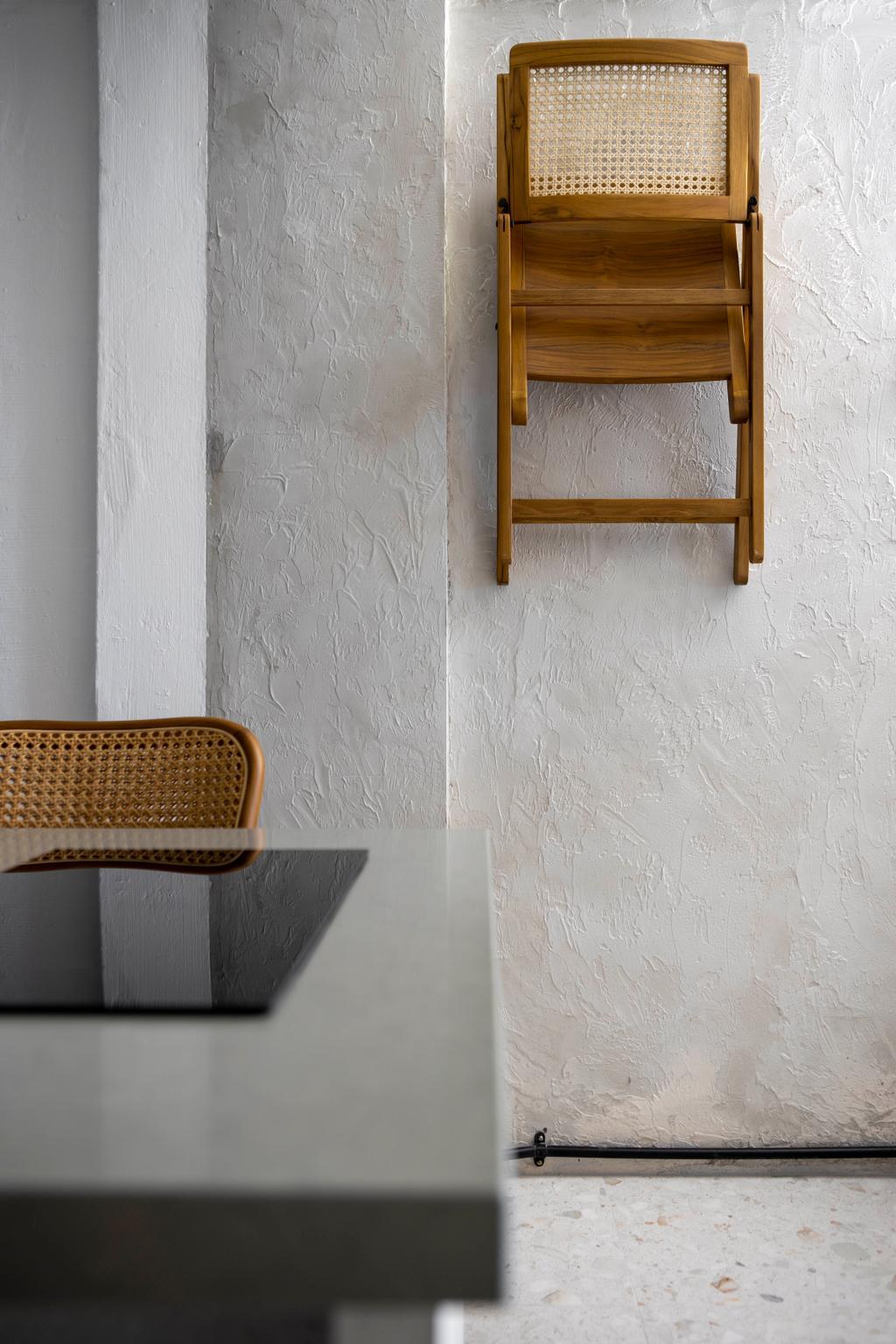 Industrial, HDB, Dining Room, Serangoon Avenue 2, Interior Designer, Ascend Design, Retro
