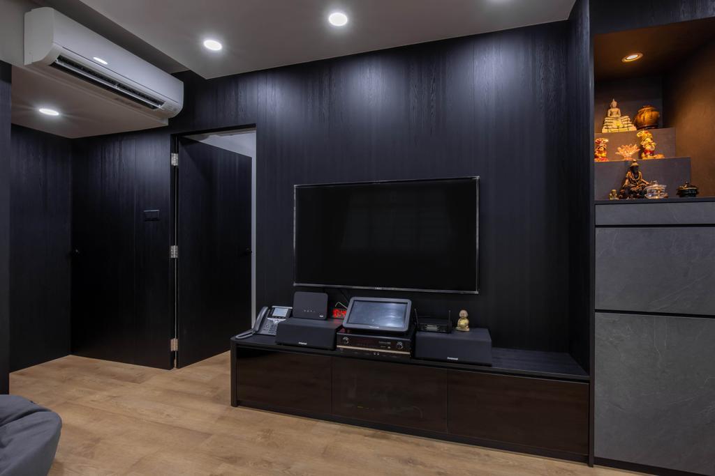 Contemporary, HDB, Living Room, Choa Chu Kang Avenue 4, Interior Designer, J Design & Build