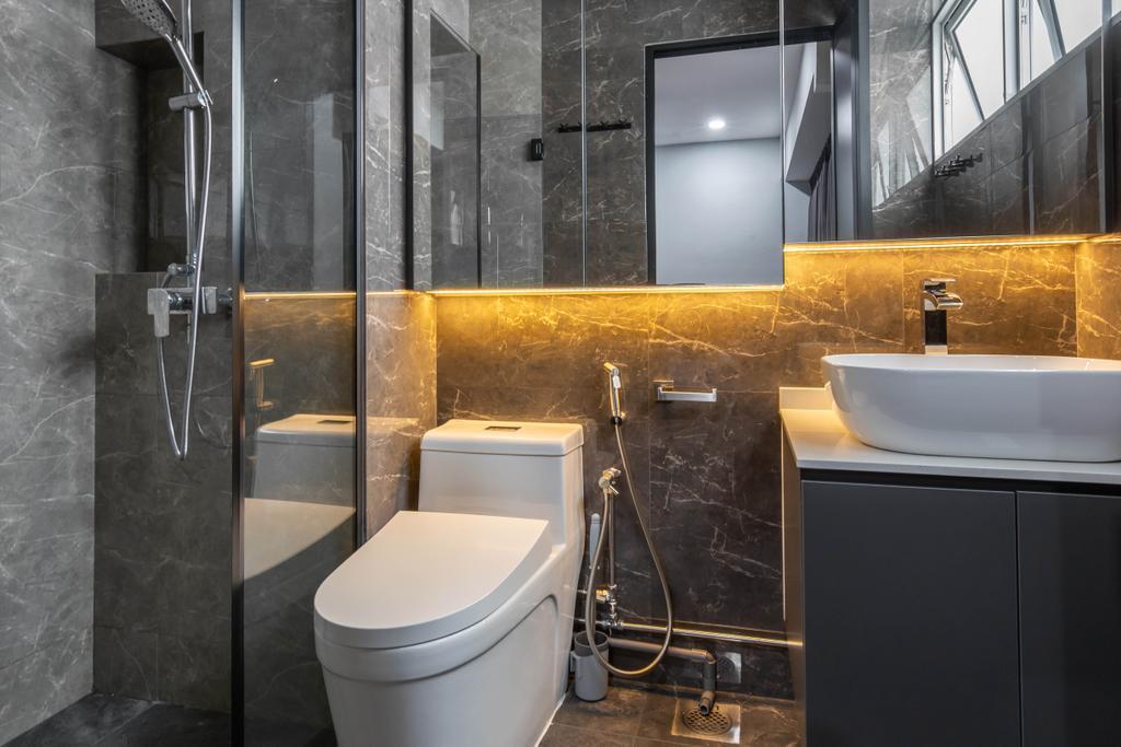Contemporary, HDB, Bathroom, Choa Chu Kang Avenue 4, Interior Designer, J Design & Build