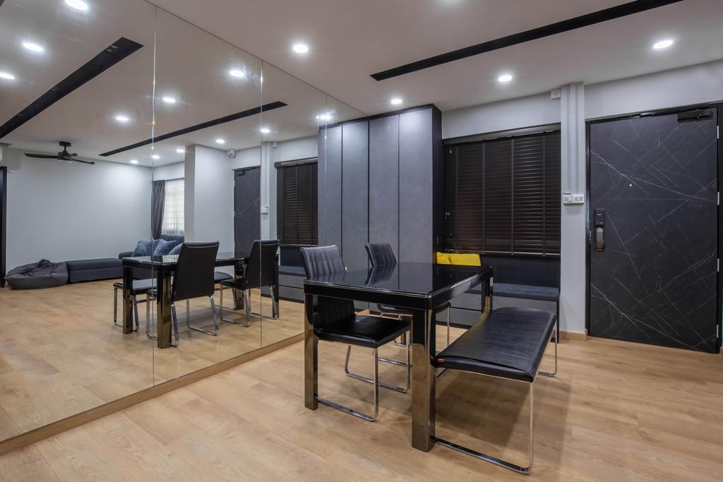 Contemporary, HDB, Dining Room, Choa Chu Kang Avenue 4, Interior Designer, J Design & Build
