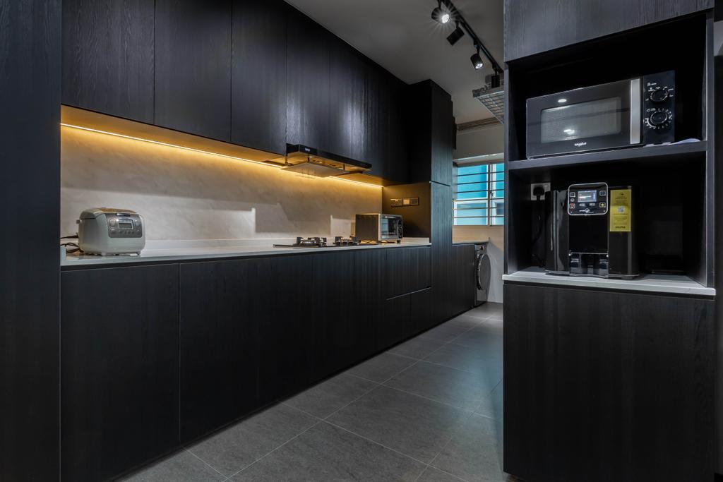 Contemporary, HDB, Kitchen, Choa Chu Kang Avenue 4, Interior Designer, J Design & Build