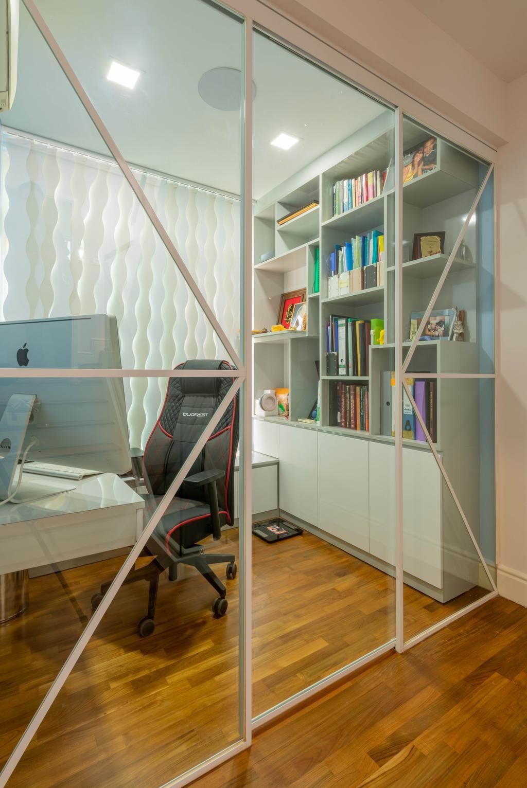 Modern, Condo, Study, Kew Green, Interior Designer, Design Identity, Contemporary