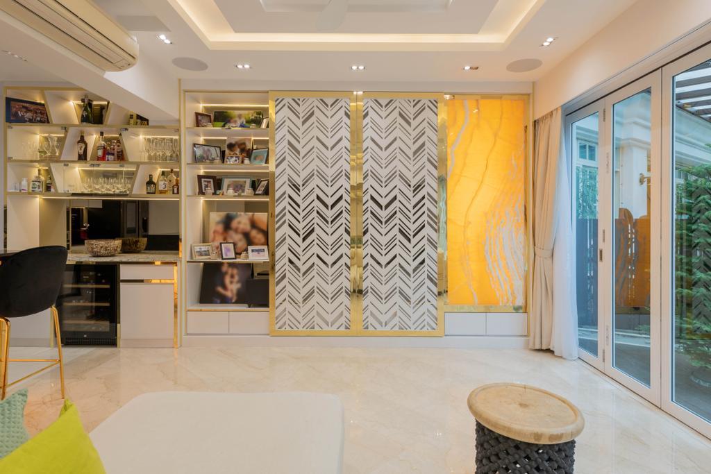 Modern, Condo, Living Room, Kew Green, Interior Designer, Design Identity, Contemporary