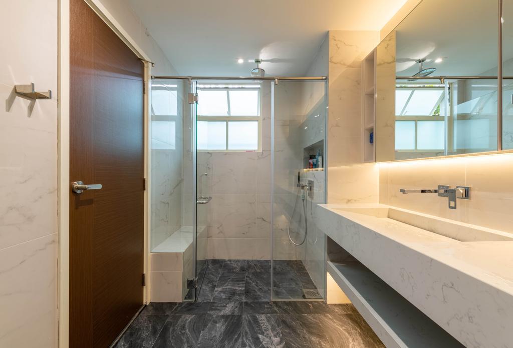 Modern, Condo, Bathroom, Kew Green, Interior Designer, Design Identity, Contemporary