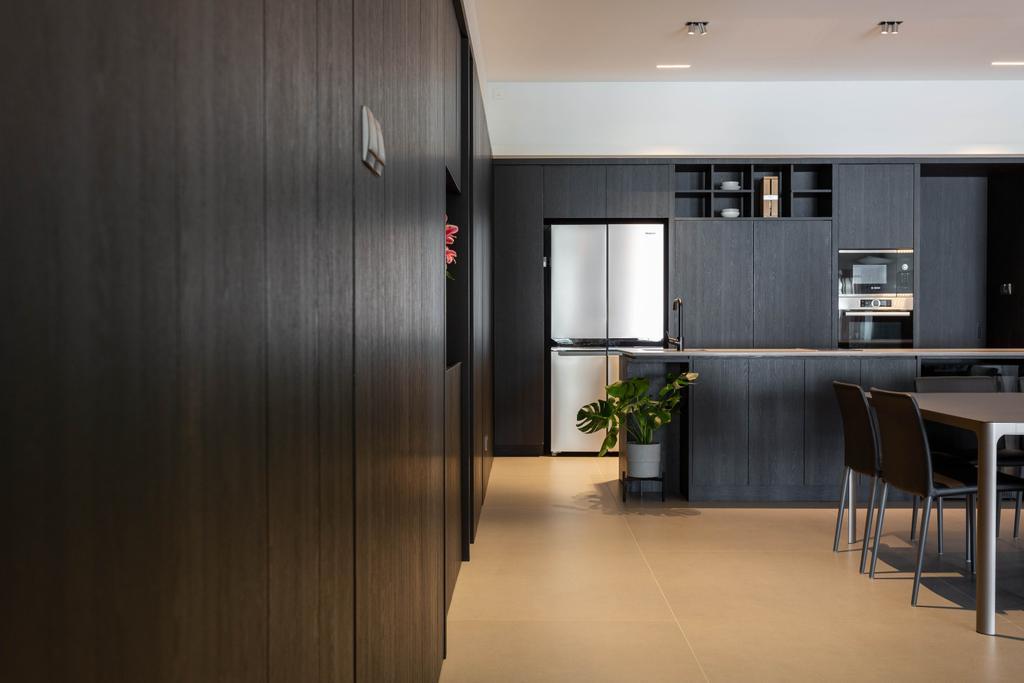 Contemporary, Condo, Kitchen, Trevose Park, Interior Designer, Habit
