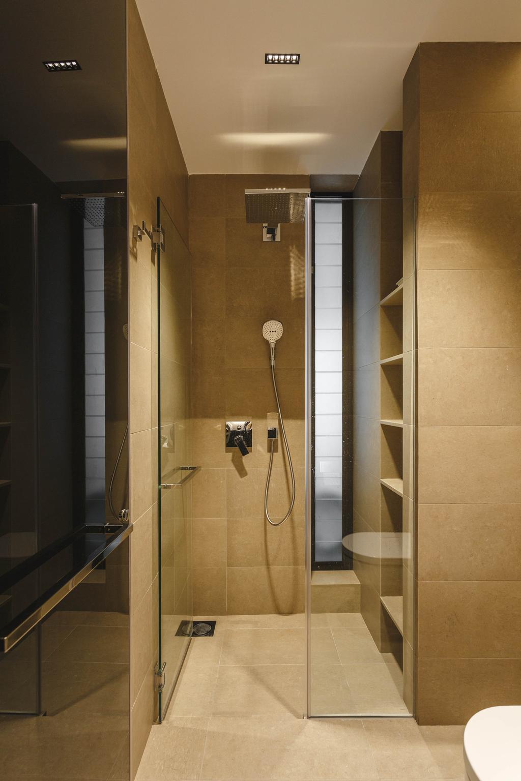 Contemporary, Condo, Bathroom, Trevose Park, Interior Designer, Habit