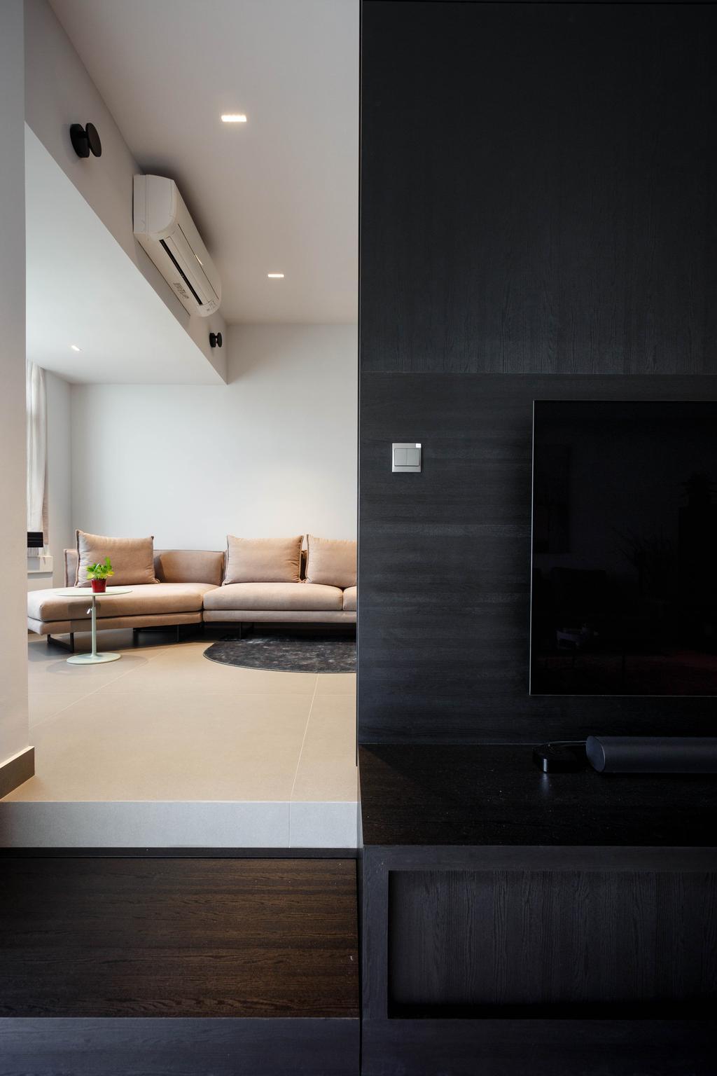 Contemporary, Condo, Trevose Park, Interior Designer, Habit
