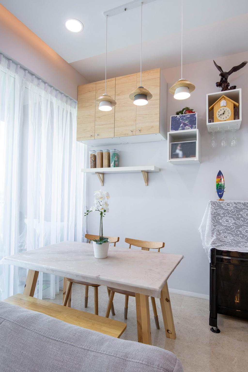 Modern, Condo, Dining Room, Pricipal Garden, Interior Designer, T&T Design Artisan, Scandinavian