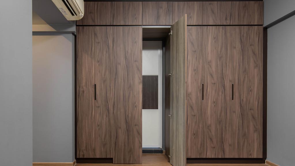 Modern, HDB, Bedroom, Edgefield Plains, Interior Designer, Yang's Inspiration Design, Contemporary