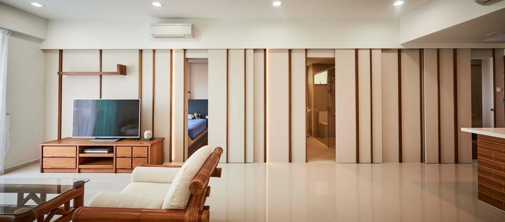 Contemporary, Condo, Living Room, Aspen Heights, Interior Designer, R+R Design Studio