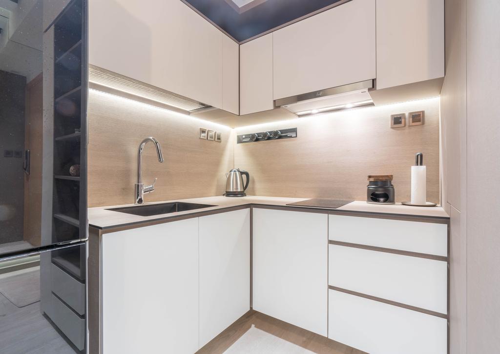 Contemporary, Condo, Kitchen, Parc Emily, Interior Designer, R+R Design Studio