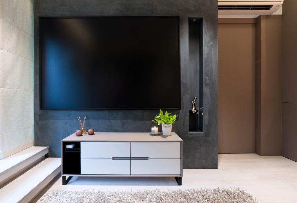 Contemporary, Condo, Living Room, Parc Emily, Interior Designer, R+R Design Studio