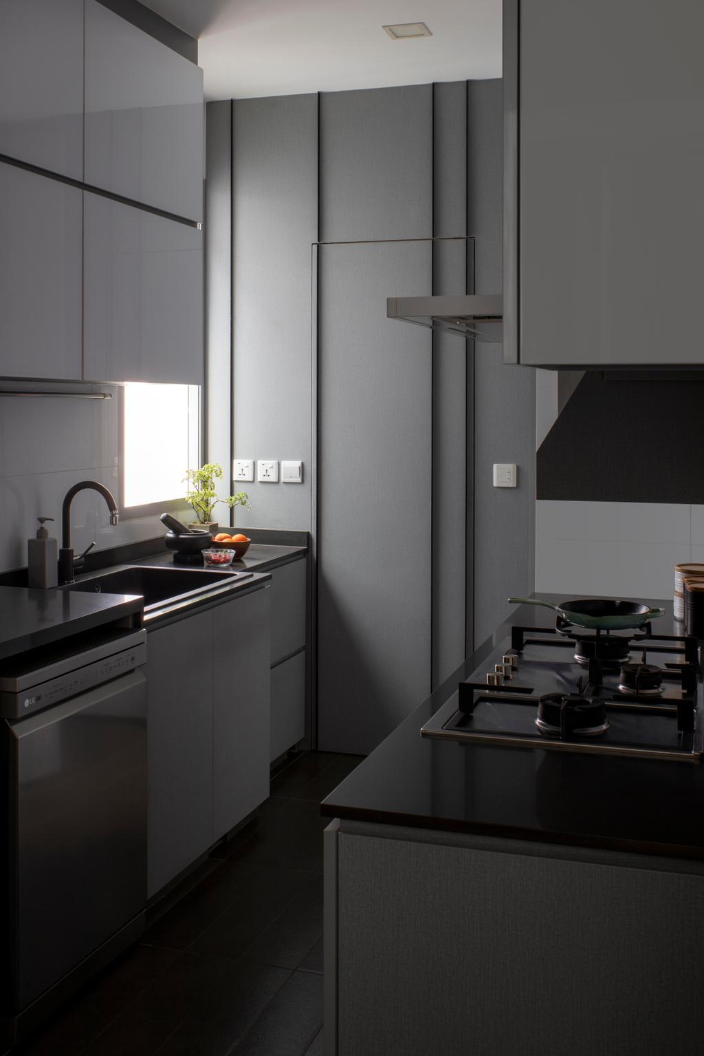 Contemporary, Condo, Kitchen, The Minton, Interior Designer, R+R Design Studio
