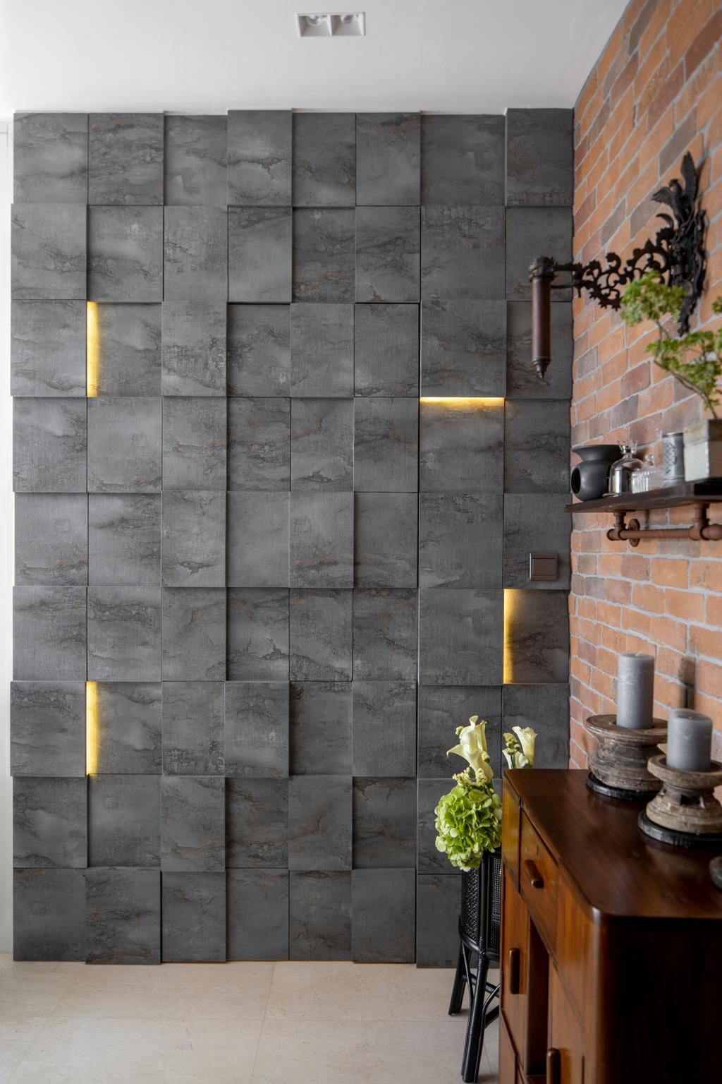 Contemporary, Condo, Living Room, The Minton, Interior Designer, R+R Design Studio
