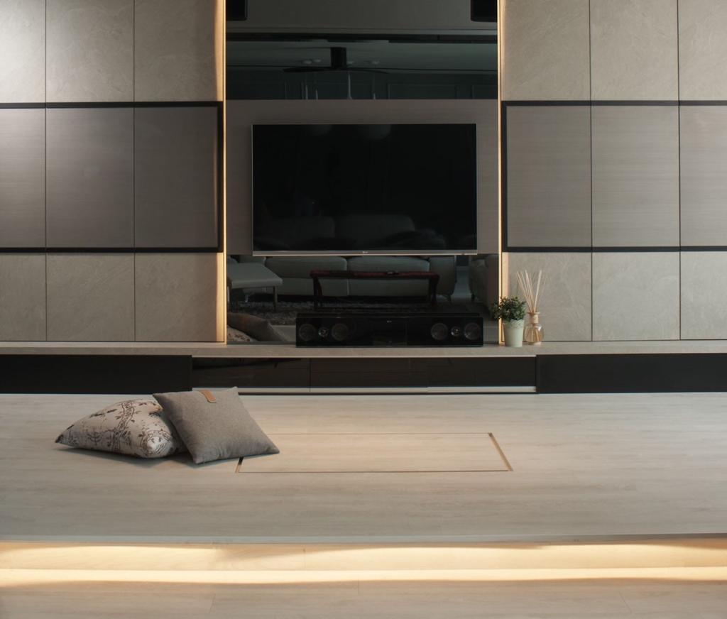Contemporary, Condo, Living Room, Mirage Tower, Interior Designer, R+R Design Studio