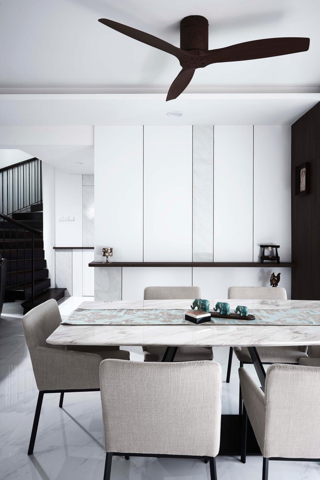 Contemporary, Condo, Dining Room, Aquarius by the Park, Interior Designer, R+R Design Studio