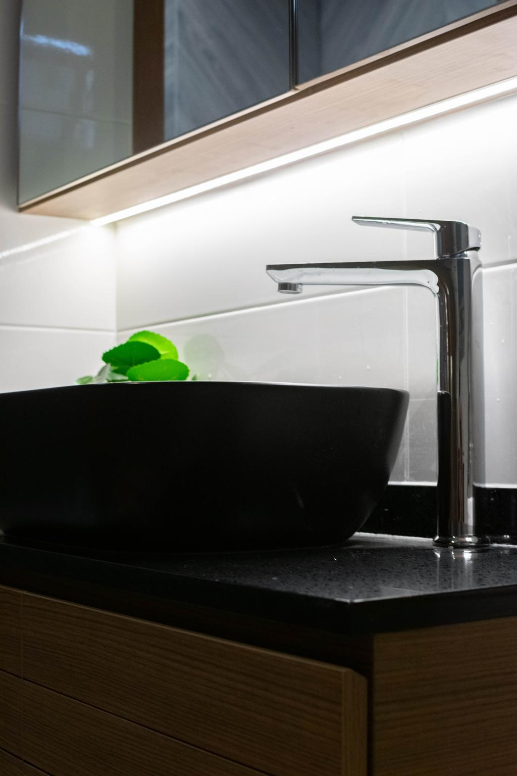 Contemporary, HDB, Bathroom, Tampines Street 86, Interior Designer, Yang's Inspiration Design, Scandinavian