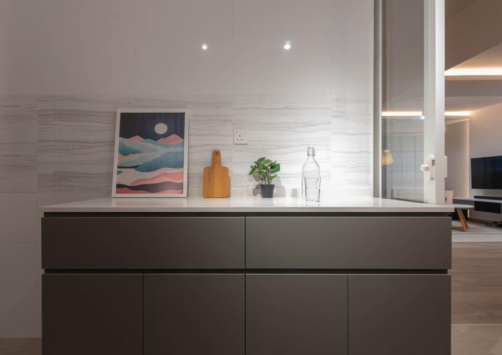 Contemporary, HDB, Tampines Street 86, Interior Designer, Yang's Inspiration Design, Scandinavian