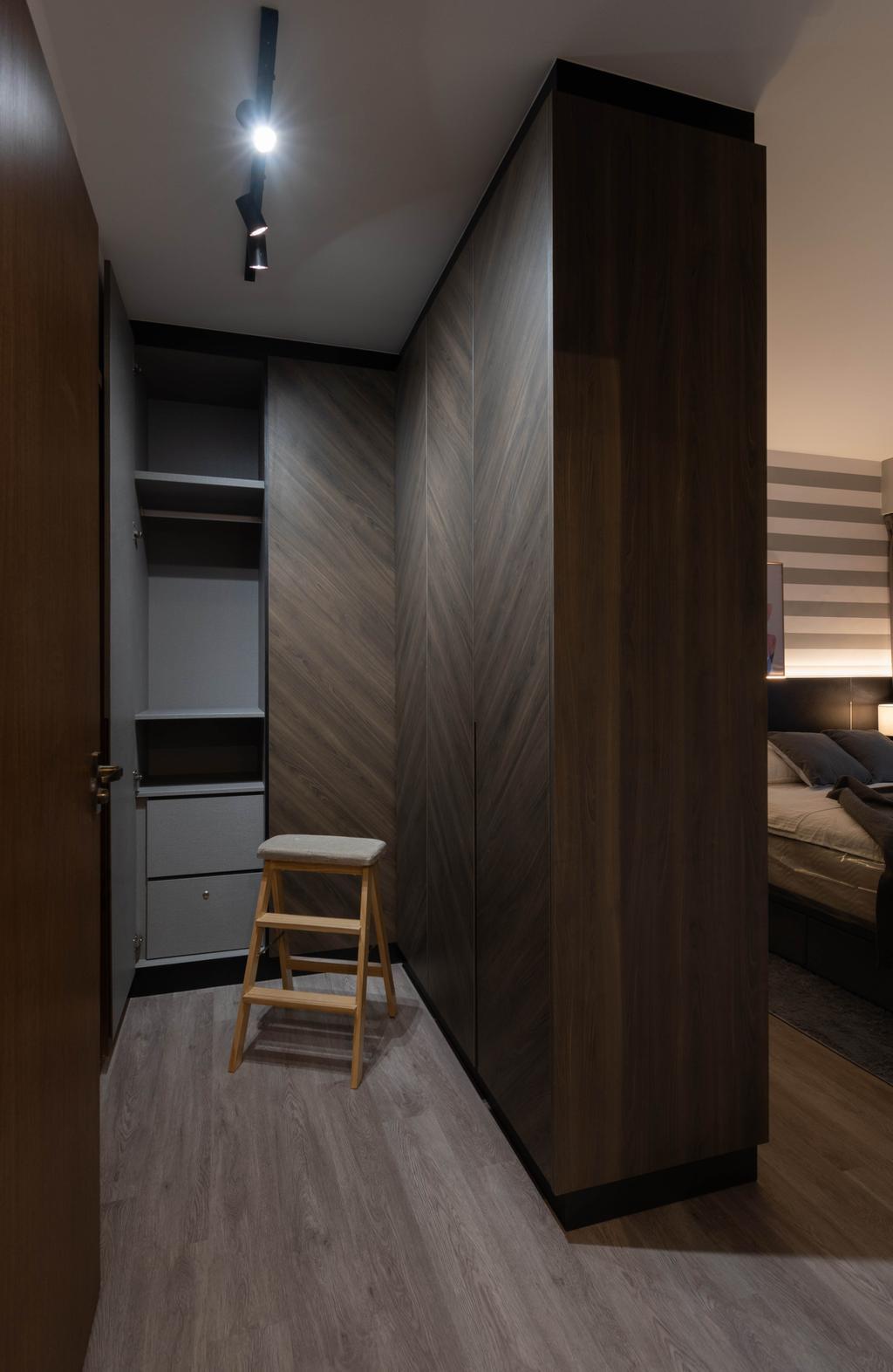 Contemporary, HDB, Bedroom, Tampines Street 86, Interior Designer, Yang's Inspiration Design, Scandinavian